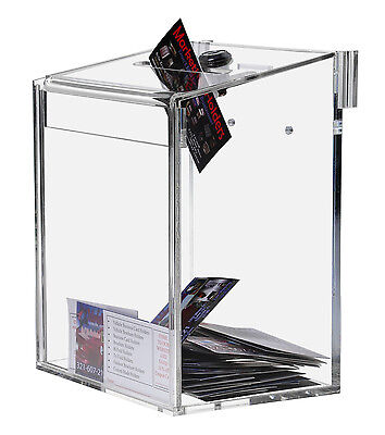 Clear Suggestion / Ballot Box Top Lock 6x8
