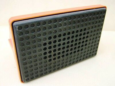 DDR Lautsprecher Kult Retro Design Boxen Space Age mid century orange