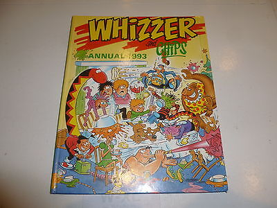 WHIZZER & CHIPS Annual - Year 1993 - UK Fleetway Annual (With Price Ticket)