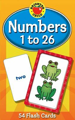 Numbers Flash Cards Orchard Toys Educational Baby Toddler Child Counting Game
