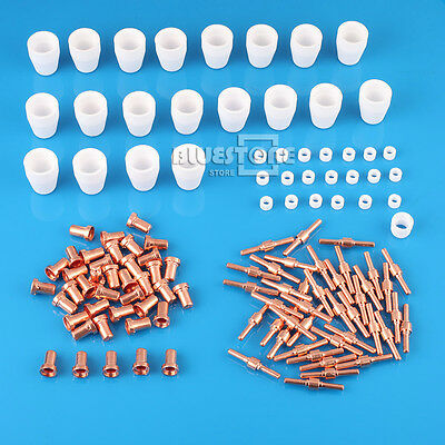120X PT-31 LG-40 Plasma Cutter Cutting Torch Consumables KIT Extended Fit CUT40