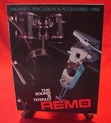 Remo Drumsets, Percussion and accessories (1988) Literature Catalog