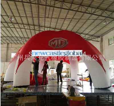 """26'2"""" custom made giant inflatable tent dome advertising promotion trade show"""