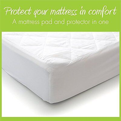 MILLIARD Premium Hypoallergenic Waterproof Quilted Bassinet Mattress Pad / Cover