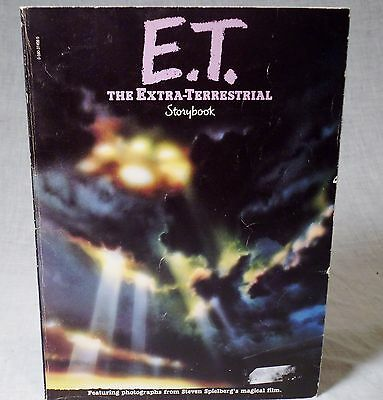 E.T. Storybook The Extra-Terrestrial from Steven Spielberg Film 1982 Softcover