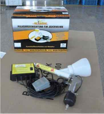 Portable Powder Coating system paint Gun coat 02 brand new  M
