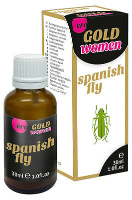 Per Donna Stimolante Sessuale Gocce HOT Spanish Fly Women Gold Strong 30ml