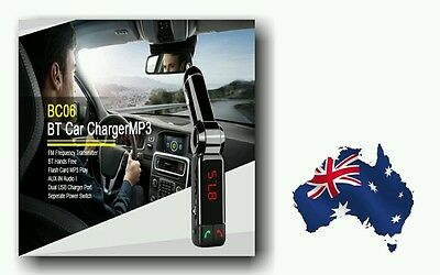 5in1 MP3 Player Hands-Free Bluetooth Transmitter charger Car Kit/12 mth Warranty