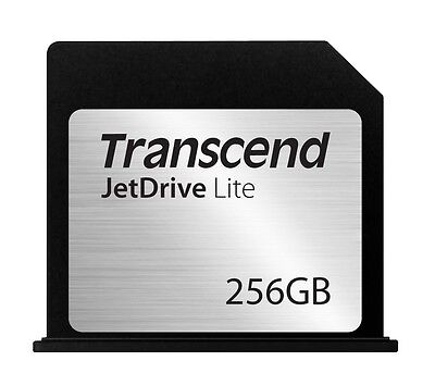 256GB Transcend JetDrive Lite 130 Expansion Card for MacBook Air 13-inch
