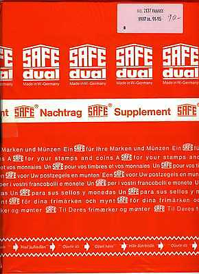 France 1987  Feuilles Complementaires Safe