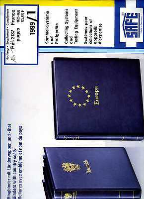 France 1999  Feuilles Complementaires Safe