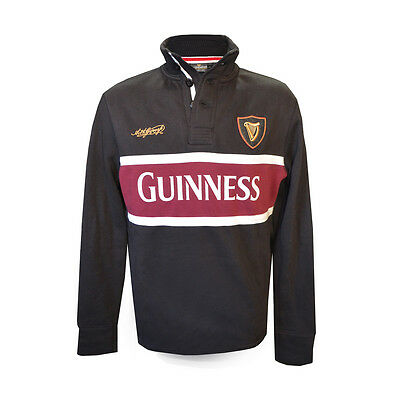 Guinness Harp High Neck Top in Burgandy / Black (S-XXXL)