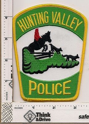 Hunting Valley Police. Ohio.