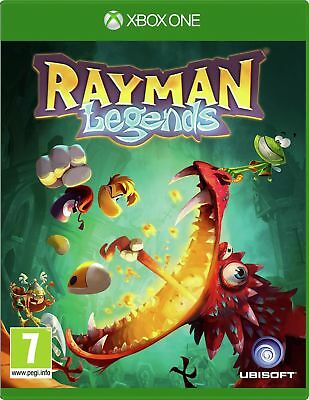 Rayman Legends Microsoft Xbox One Game 7+ Years