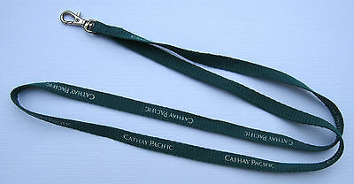 Cathay Pacific Airline Schlüsselband Lanyard NEU (T104)