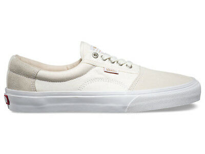 NEW Vans Rowley Solos Herringbone White Skate Shoes Geoff Rowley