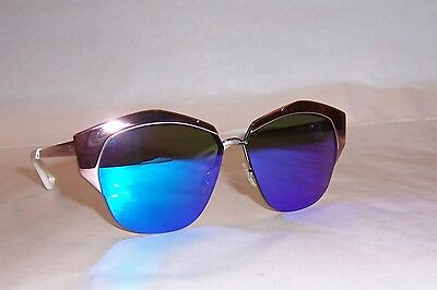 0f91c78746 New Christian Dior Mirrored s I24-Te Pink violet Mirror Sunglasses Authentic