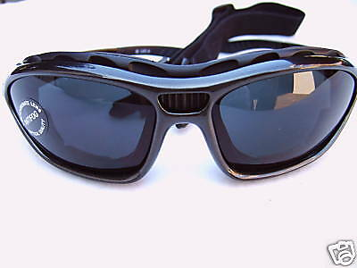 ALPLAND SPORTS GOGGLES GLACIER GLASSES -mountain sunglasses with BAND and wire