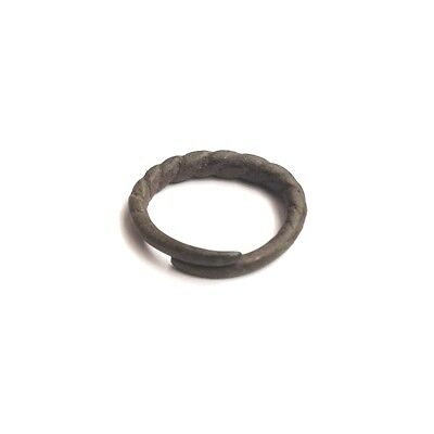 Bronze Viking Twisted Ring 8-10 AD Kievan Rus