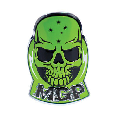 MADD Gear MGP Alloy Scooter Headtube Decal Sticker – Green