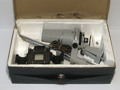 Vintage Meopta Opemus III 3 Photo Enlarger With Case