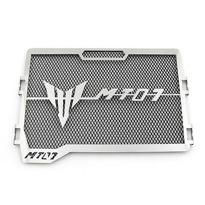 Radiator Grille Guard Cover Protector For Yamaha MT-07 FZ-07 2013-2016 Black