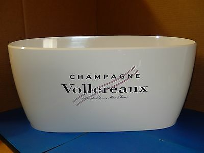"""Brand New ~ Vollereaux Champagne Large 19"""" Plastic Ice Bucket"""