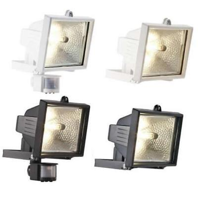 120W - 400W Security Floodlight With - Without PIR Motion Sensor Garden Patio