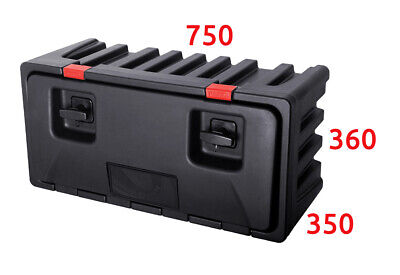 LAGO Black Dog 750x360x350 TOOL BOX / Truck Storage Box / Lorry / Bus Tool Case