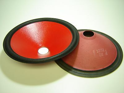 "Speaker Parts 451549-3 Pair 15/"" Paper Cones"