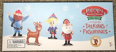 Rudolph the Red Nosed Reindeer 50th Anniversary Collectors Set 4 Talking Figures