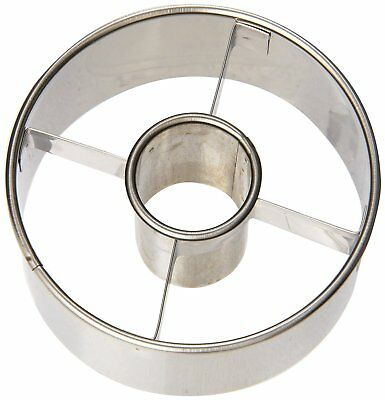 """Ateco 3 1/2"""" COOKIE/BISCUIT CUTTER Stainless Steel Material Harold Import"""