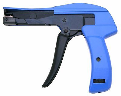 """Heavy Duty Cable Tie Gun, Clamshell  with Steel Handle 7"""" Length"""