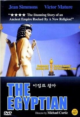 THE EGYPTIAN (1954) DVD (Sealed) ~ Jean Simmons