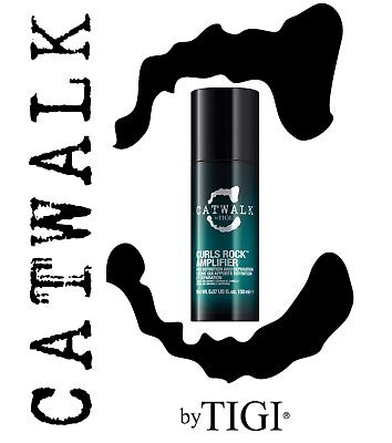 TIGI Catwalk Curl Curls Rock Amplifier 150 ml Ricci Perfetti e Definiti!