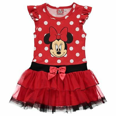 England  Disney ** Minnie Mouse ** Kleid Sommer Rock Tüll Gr. 92 - 164