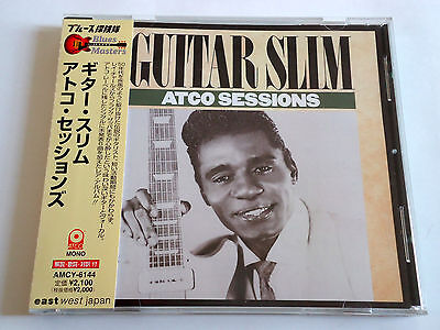 GUITAR SLIM Atco Sessions JAPAN Early Edition CD AMCY-6144 w/OBI 2000