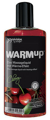 Olio per massaggi Sensual Body Massage Erotic Oil Warm-up Cherry 150 ml