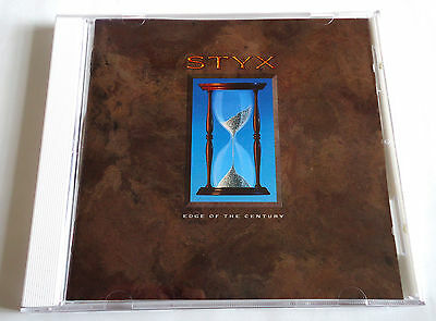 STYX Edge Of The Century JAPAN EARLY PRESS CD 1990 PCCY-10150
