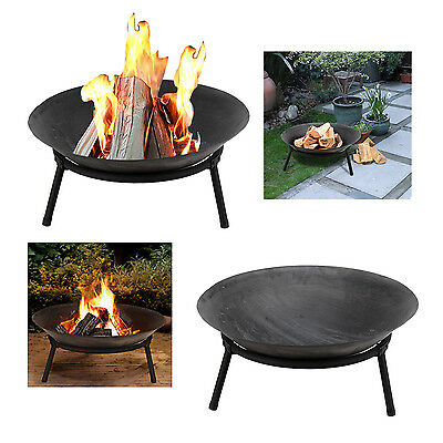 Firepit Wood Log Bowl Burner Heater Bbq Patio Garden Outdoor Fire Bowl Basket