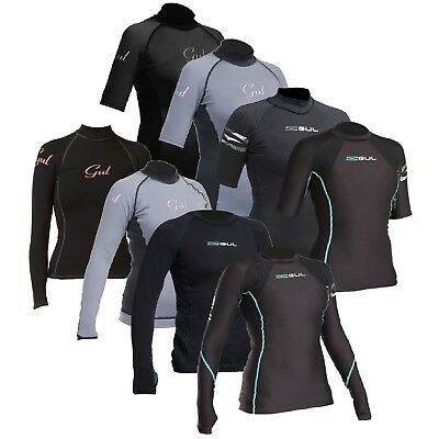 Gul Ladies Evotherm Thermal UV Protection Rash Guard Vest Wetsuit Base Layer