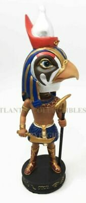 "Ancient Egyptian Legend God Falcon Bird Horus Bobblehead Figurine Egypt Toy 7""h"