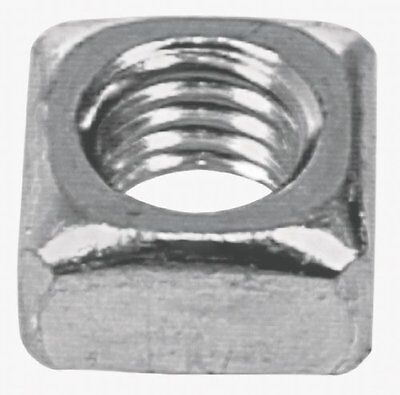 The Hillman Group 3339 7/16-14 Square Nut Zinc Plated, 12-Pack
