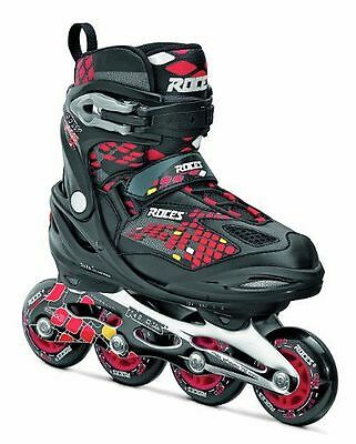Roces paire de rollers moody 4.0 Noir Black-Red,Yellow 36-40 [36-40] NEUF