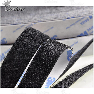 20mm x 2meter Dual Lock (hook+loop) MAGIC TAPE double coated tissue with viscose