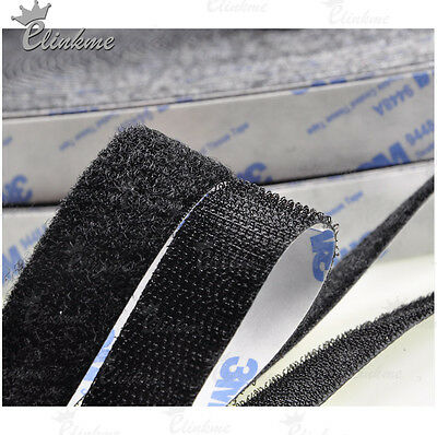 20mm*2meter Dual Lock (hook+loop) MAGIC TAPE double coated tissue with viscose