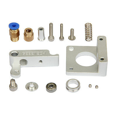 MK8 extruder base block Aluminum Frame Block DIY KIT for Prusa I3 3D Printer