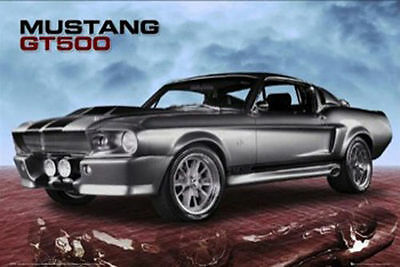 Ford POSTER Shelby Mustang GT500 Muscle Car High Performance Vehicle