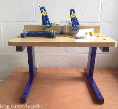 """Charnwood Universal Router Table Fits Any 1/4"""" Router - Feather Board - W012"""
