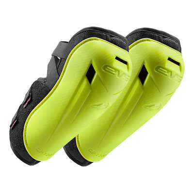 EVS Option MX Motocross Elbow Guards - Youth Hi Viz Yellow